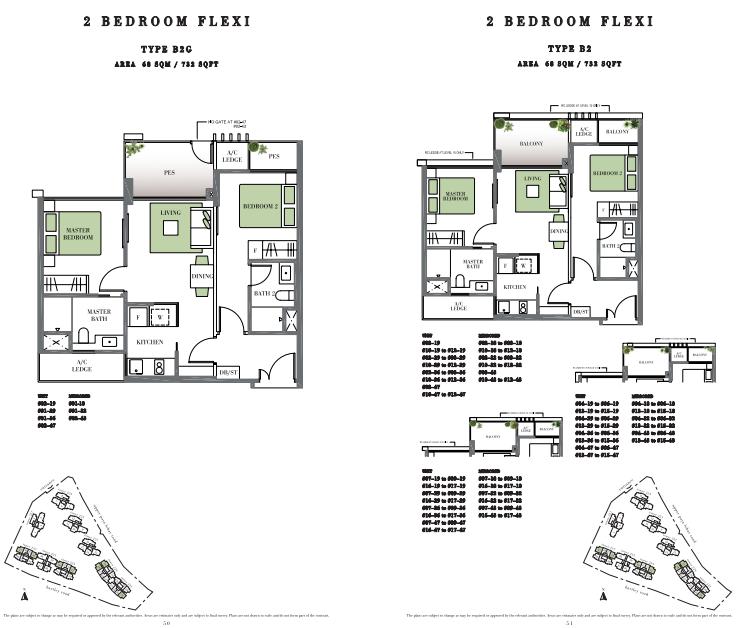 Botanique At Bartley Floor Plans