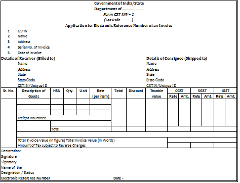 invoicing under #gst (supply of goods & supply of services)- excel, Invoice examples