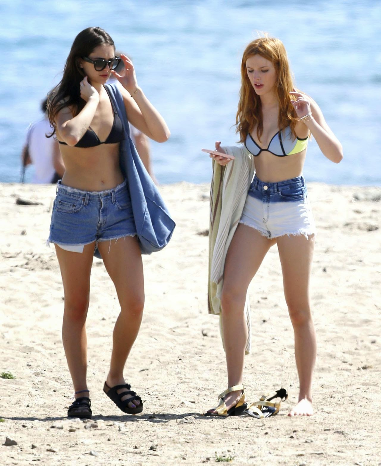 Bella Thorne in a Bikini in Malibu