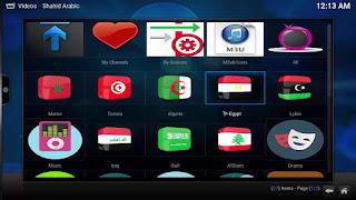 كيفية مشاهدة جميع القنوات العربية على برنامج kodi مجانا 2016