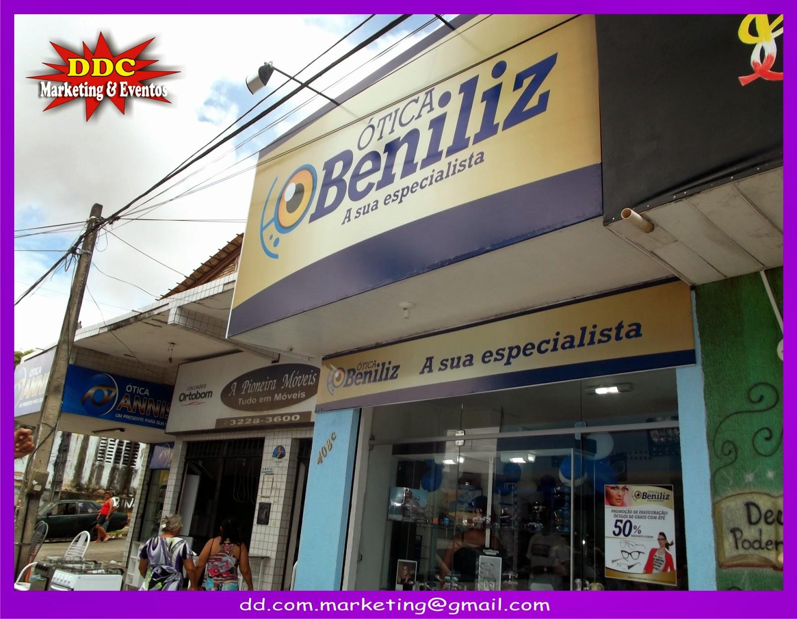 Inauguração da Ótica Beniliz   DDC Eventos 44123b3773