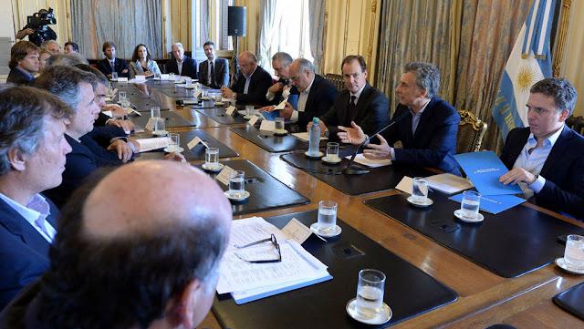 Macri se reunió con la Mesa Forestal