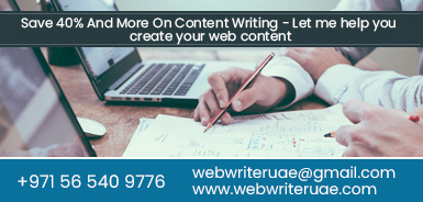 Content Writing Services Dubai