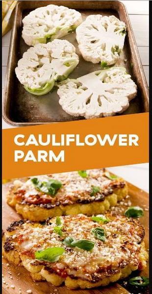 Best Cauliflower Parmesan Recipe