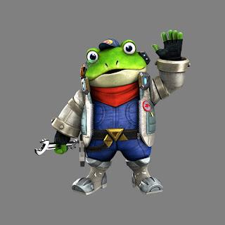 Slippy Toad Star Fox
