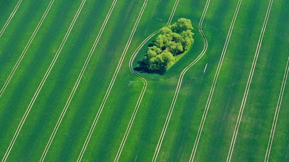 2. Fuerstenwalde, Germany - 50 Stunning Aerials That Will Make You See the World in New Ways (PHOTOS)