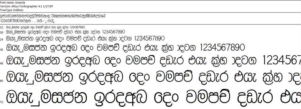 Sinhala font Download free - more Sinhala Font Download Free