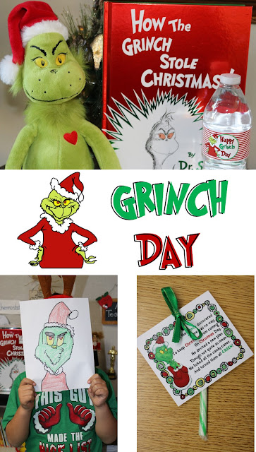 Grinch Directed Drawing