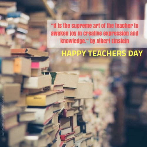 Happy Teacher's Day Quotes
