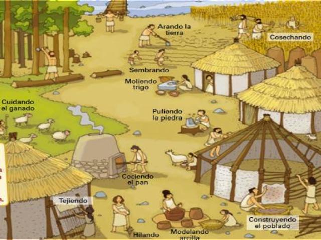 Social-ES: La Prehistoria. Sus etapas, el Neolítico