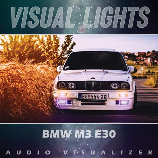 VISUAL LIGHTS - BMW M3 e30 Wallpaper Engine