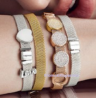 Logo Pandora ''Scopri il tuo stile'' e vinci gratis bracciali Reflexions, un regalo sicuro e Milano Fashion Week