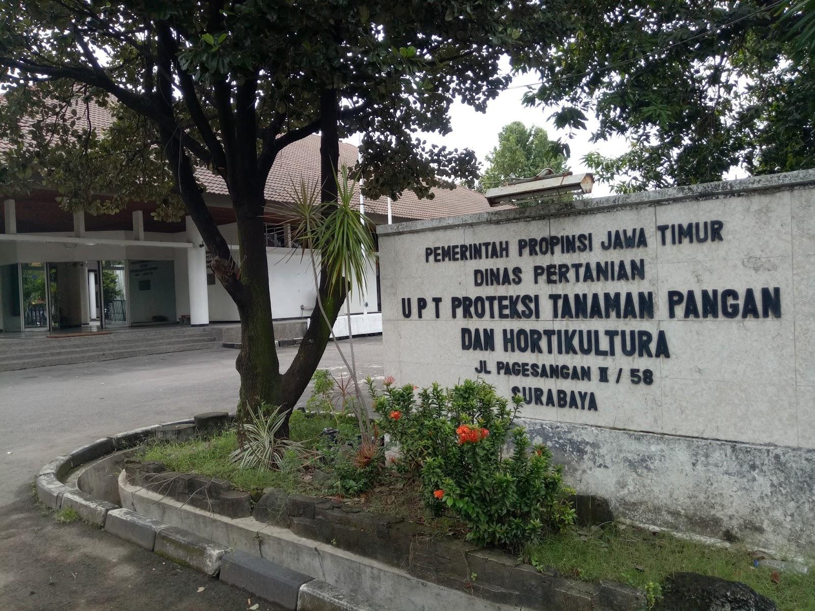 Upt Proteksi Tanaman Pangan Dan Hortikultura Provinsi Jawa Timur