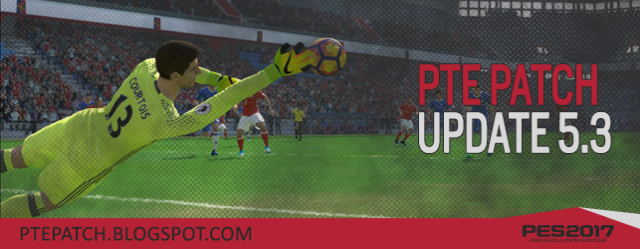 PTE Patch 2017 Update 5.3 For PES 2017 (15.05 '17)