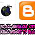 How To Add Revolver Visitor's Tracking Widget To Blogger