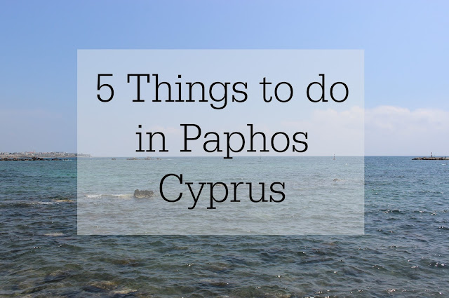 What do to in Paphos Cyprus