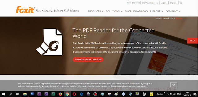 Website resmi Foxit Reader