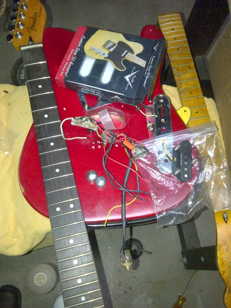 medium resolution of body and electronics is a 90s tele decided to add a 3rd guitar as a relic that got a 90s upgrade nocaster 51