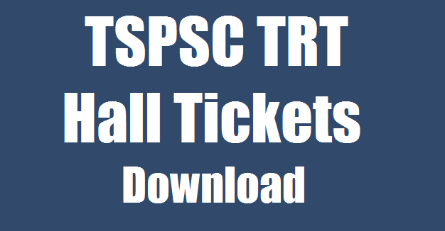 Telangana DSC SA SGT LP PET Hall Ticket 2018 released. Download TS TRT Hall Ticket 2017-18. Check SGT Exam Date on Telangana TSPSC TRT DSC Hall Ticket 2018