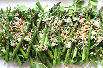 Asparagus With Herbs & Lemon Dijon