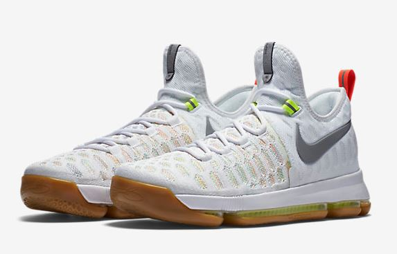 watch 4301f 68f78 Here is a look at the new Nike KD 9  Summer  Sneaker hitting retailers at  10am EST HERE at FNL, these feature a Knitted upper with zoom air finished  off ...