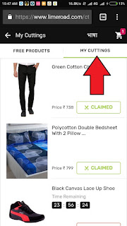 Limeboard Loot- Get Products for Free BY Just Clicks
