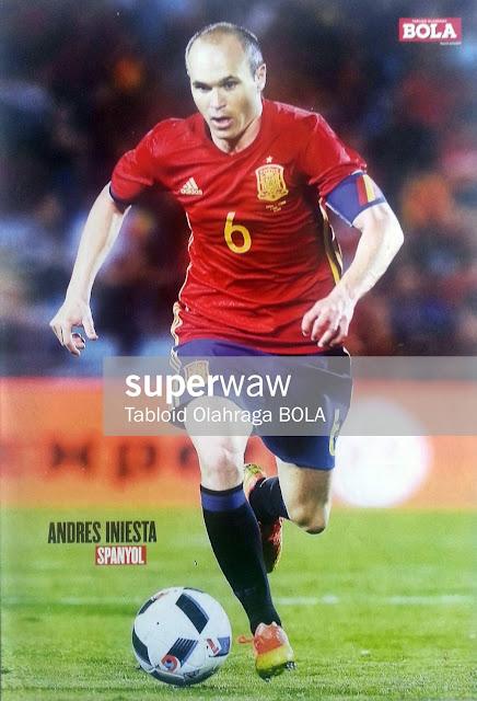 Andres Iniesta (Spain 2016)