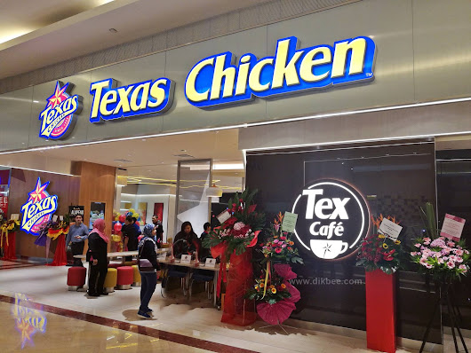 Lovely Bee: TEX CAFÉ KONSEP BARU DI TEXAS CHICKEN SURIA KLCC
