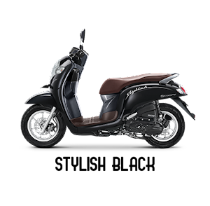 Scoopy ESP stylish black