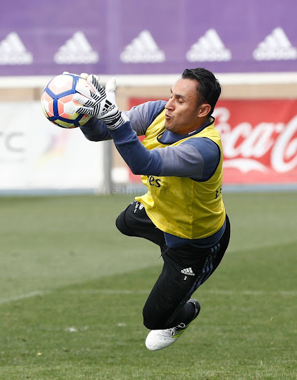 e0197aabc Keylor Navas Reveals Next-Gen Adidas Goalkeeper Gloves and Unreleased  Adidas Ace 17 Boots