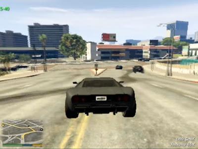 GTA 5 dengan grafik seadanya ps2