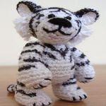 patron gratis tigre amigurumi