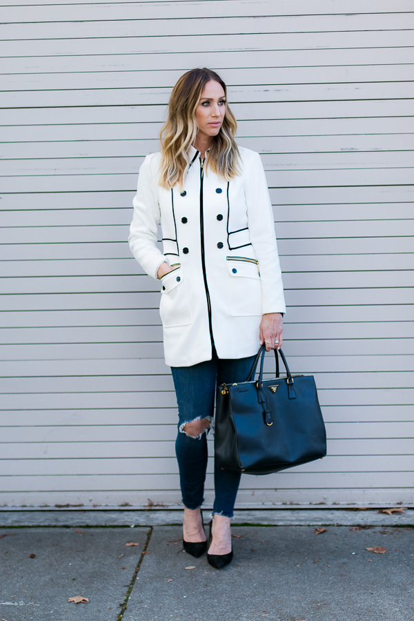 classic car coat style parlor girl
