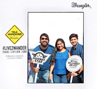 Wrangler Flags off the True Wanderers from Mumbai