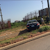 Driver Crashes His Car After Accident Along Airport Road In Abuja. {Photos}