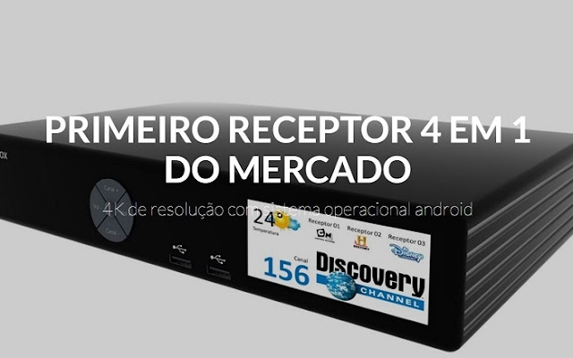 CHEGOU ULTIMATE BOX, NA COMPRA DE 1 RECEPTOR VOCÊ RECEBE 4 - 17/12/2016