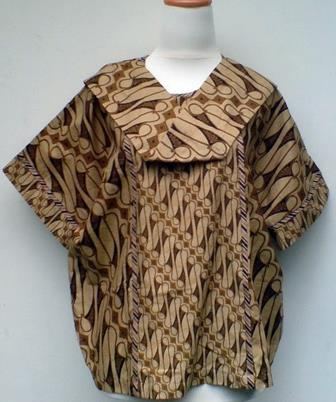 Contoh Blus Batik Untuk Para Ibu Muda