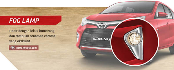 Foglamp Toyota Calya tipe G