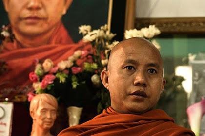 Biksu Budha Ashin Wirathu Sebut Dirinya Seperti Donald Trump Yang Anti Muslim