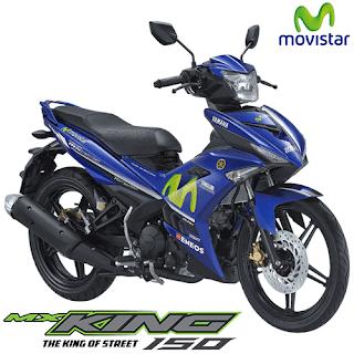 Kredit Motor Yamaha Jupiter MX King GP Movistar