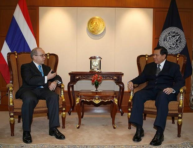 США и Таиланд