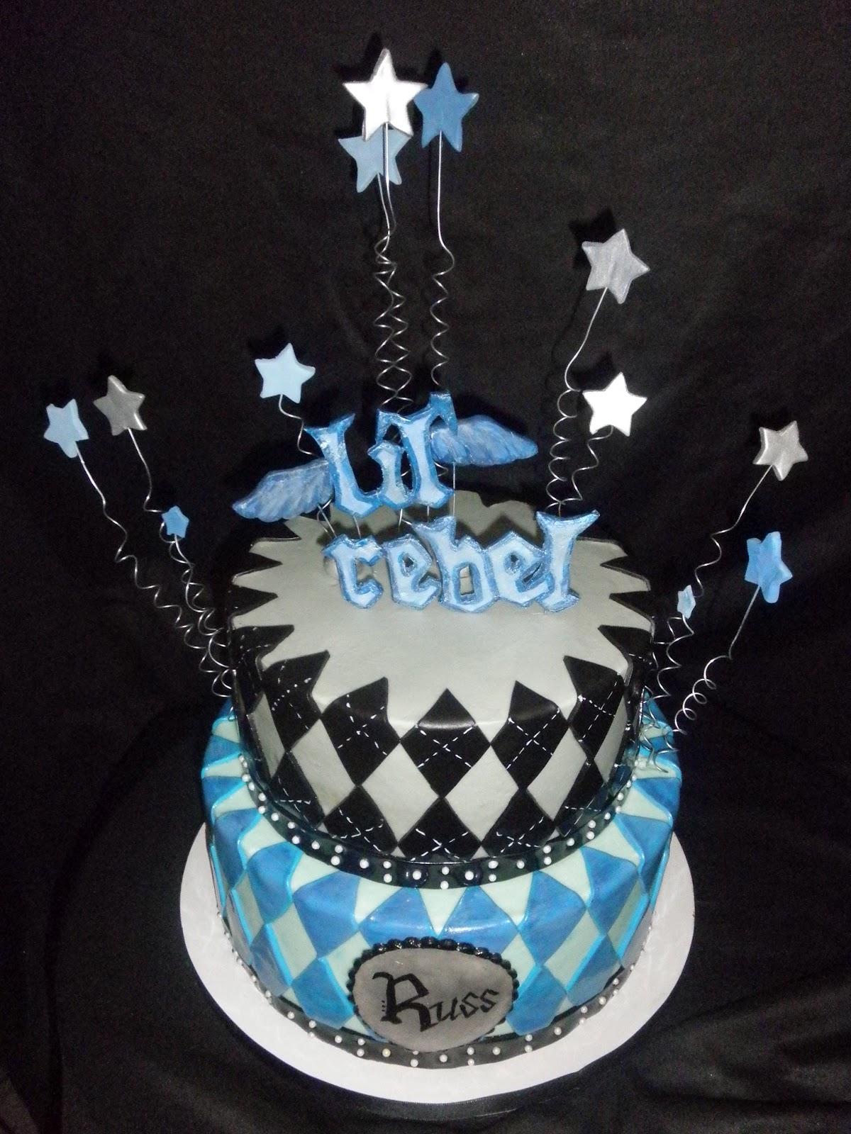 Lil Rebel 1st Birthday Cake And Smash