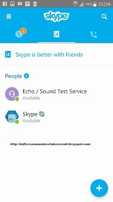 Cara Daftar Skype di Android