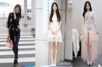 Siapa Pemilik Bentuk Tubuh Terbaik, Yoona vs Hyosung vs Seolhyun?