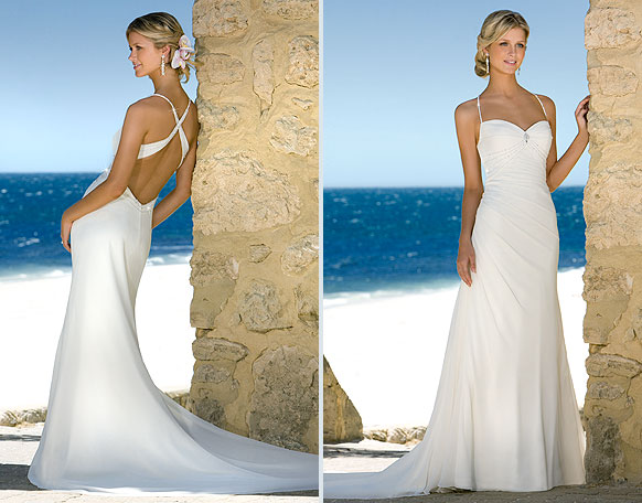 Backless Wedding Gowns: The Flowers Wild: Elphaba's Wedding Dress From TAKING CHANCES