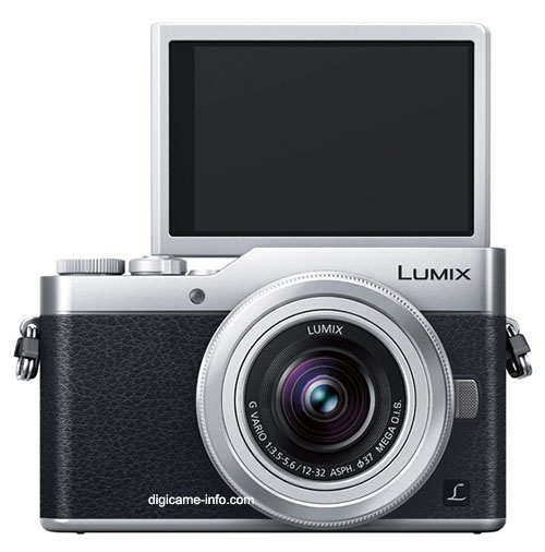 Panasonic Lumix GF9, вид спереди