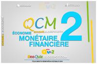 Économie monétaire et financière QCM
