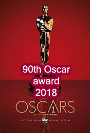 90th Oscar award-winning event to be held.