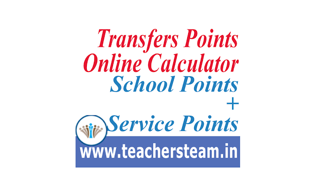 Transfers Points Online Calculator
