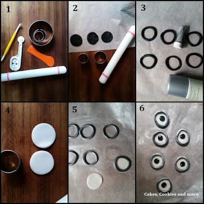 Schritt-für-Schritt-Anleitung für Minions Kekse